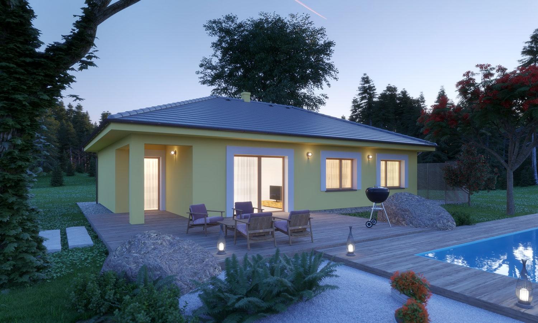 projekt domu BUNGALOW 198