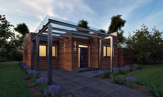 projekt domu BUNGALOW 199