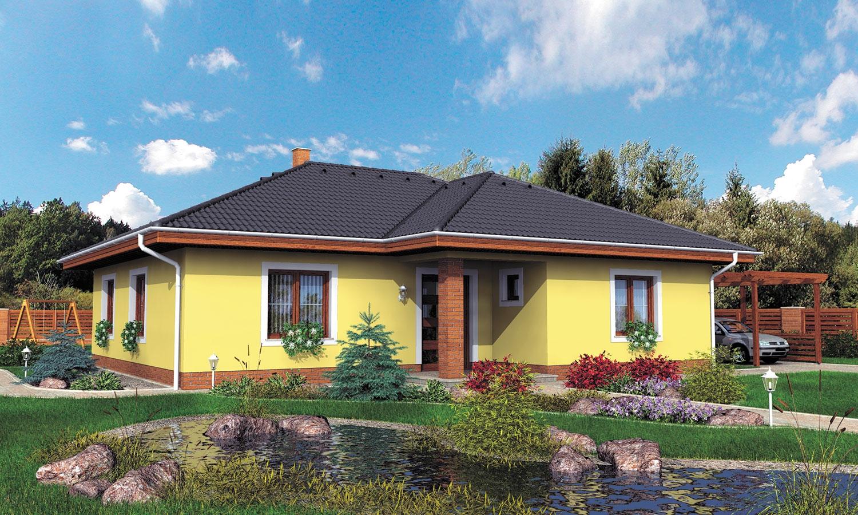 projekt domu BUNGALOW 2