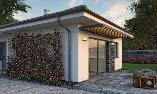 projekt domu BUNGALOW 200