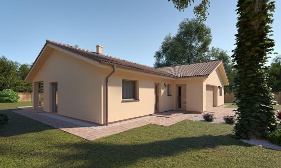 projekt domu BUNGALOW 201