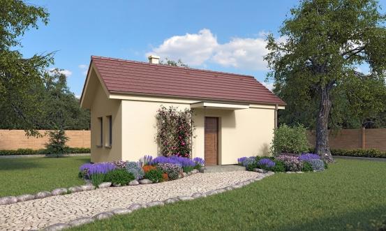 projekt domu BUNGALOW 203
