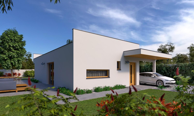 projekt domu BUNGALOW 204