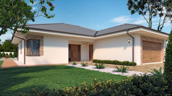projekt domu BUNGALOW 205