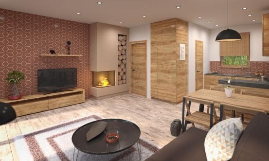 projekt domu BUNGALOW 206
