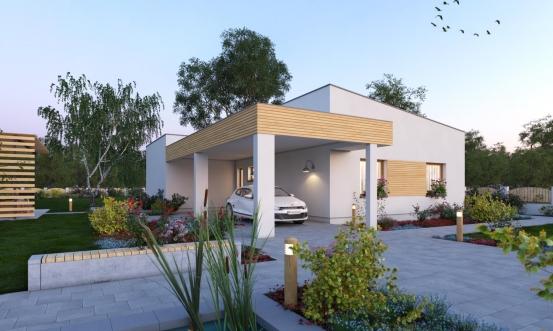projekt domu BUNGALOW 209