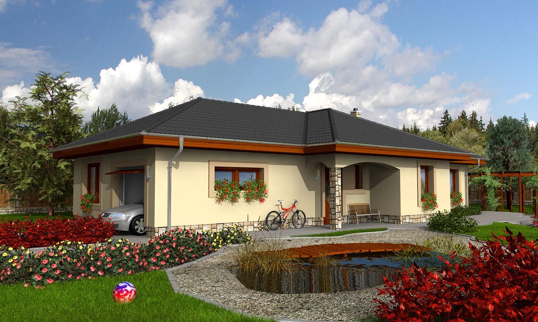 projekt domu BUNGALOW 21