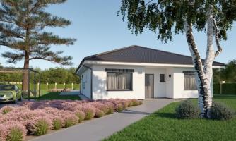 projekt domu BUNGALOW 210