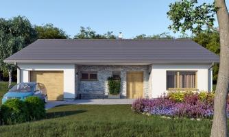 projekt domu BUNGALOW 211