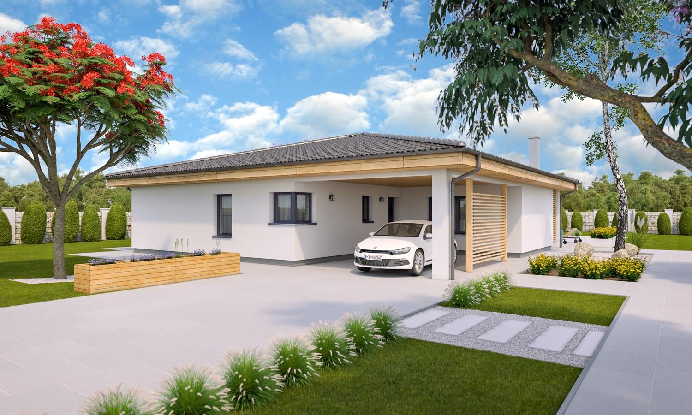 projekt domu BUNGALOW 214