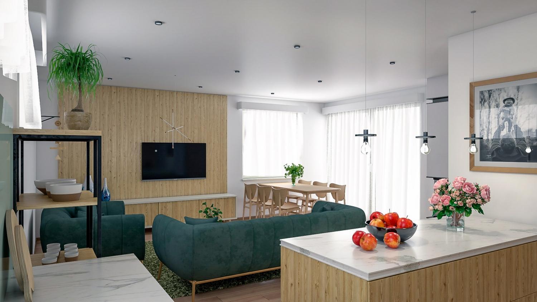 projekt domu BUNGALOW 216