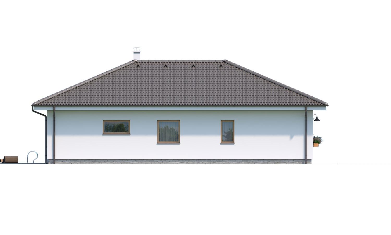 Pohľad 4. - Krásny 5-izbový bungalov do tvaru L s prekrytou terasou.