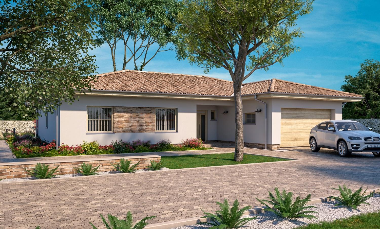projekt domu BUNGALOW 217