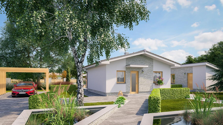 projekt domu BUNGALOW 219