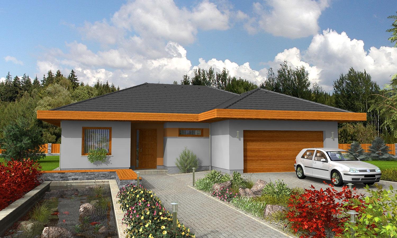 projekt domu BUNGALOW 22