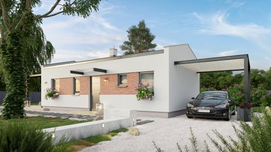 projekt domu BUNGALOW 220