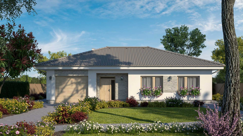projekt domu BUNGALOW 222