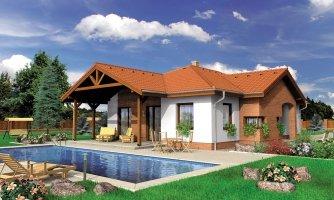 projekt domu BUNGALOW 23