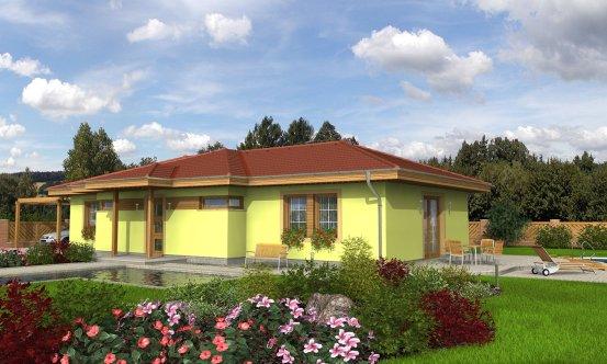 projekt domu BUNGALOW 25