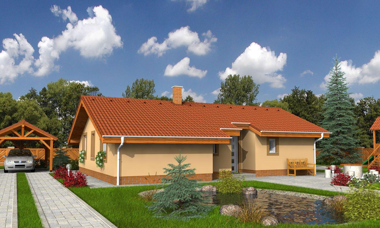 projekt domu BUNGALOW 26