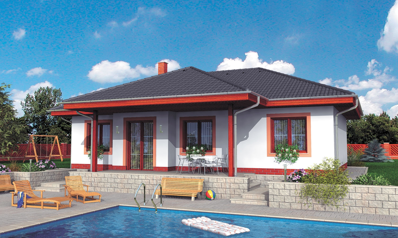 projekt domu BUNGALOW 27