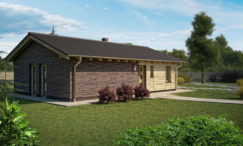 projekt domu BUNGALOW 28