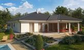 Exkluzívny jednoduchý dom s dvojgarážou