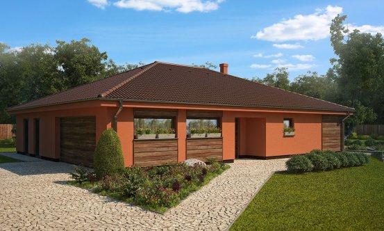 projekt domu BUNGALOW 29