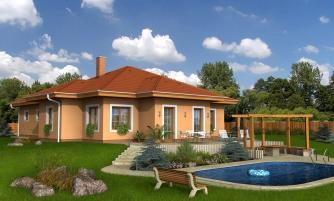 projekt domu BUNGALOW 3