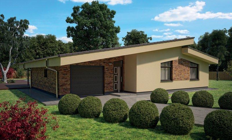 projekt domu BUNGALOW 30
