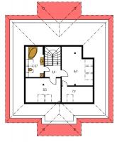Pôdorys poschodia - BUNGALOW 31