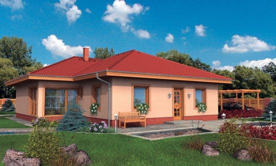 projekt domu BUNGALOW 32