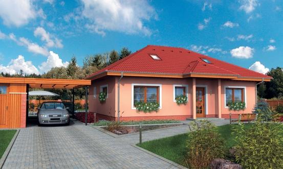 projekt domu BUNGALOW 33