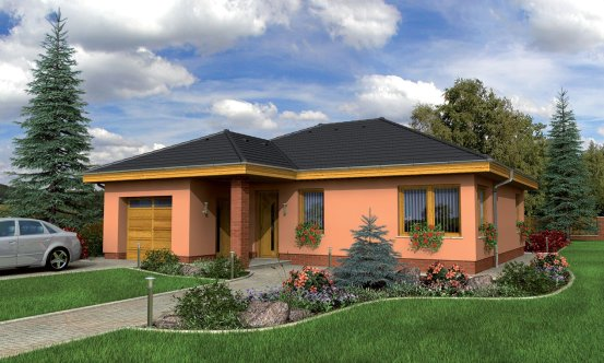 projekt domu BUNGALOW 34