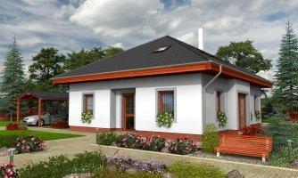 projekt domu BUNGALOW 35