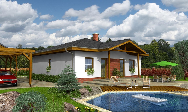 projekt domu BUNGALOW 36