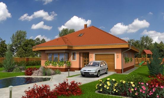 projekt domu BUNGALOW 37