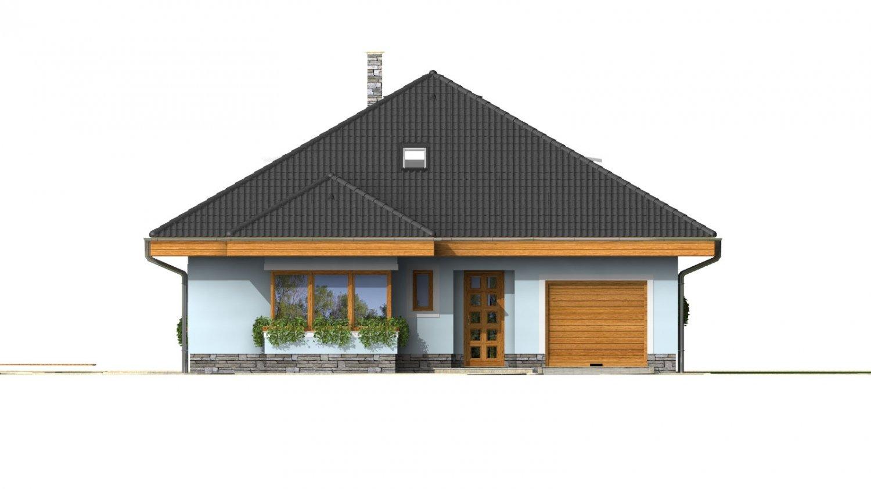 Pohľad 1. - Pekný dom s garážou, terasou, podkrovím a izbou na prízemí