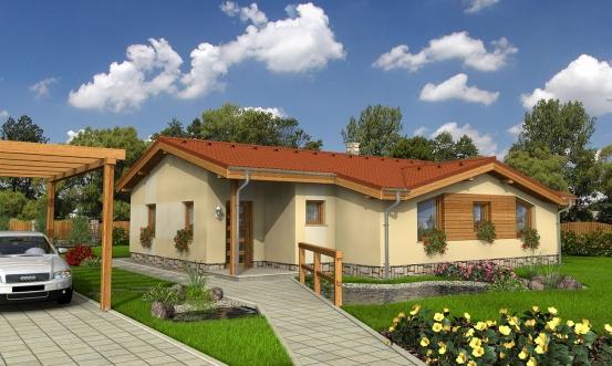 projekt domu BUNGALOW 38