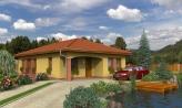Dom na úzky pozemok s terasou