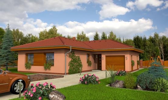 projekt domu BUNGALOW 40