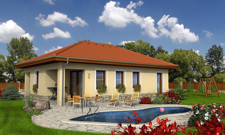 projekt domu BUNGALOW 41