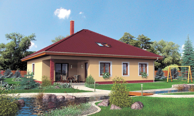 projekt domu BUNGALOW 42