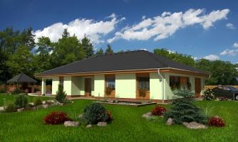 Úžasný dom na užší pozemok s garážou