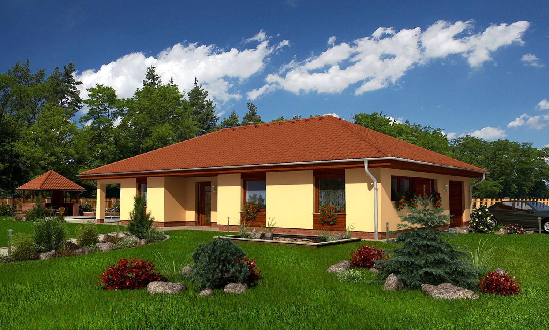 projekt domu BUNGALOW 43