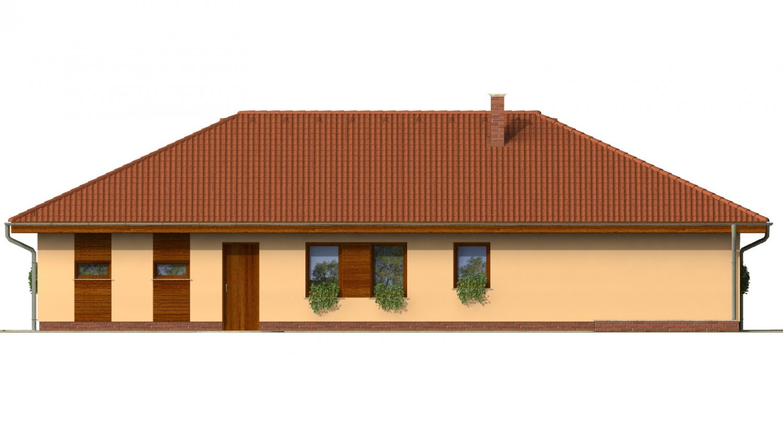 Pohľad 4. - Úžasný dom na užší pozemok s garážou.