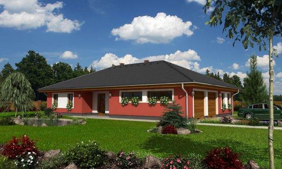 projekt domu BUNGALOW 44