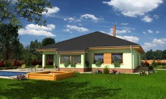 Obľúbený dom s dvojgarážou
