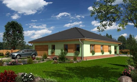 projekt domu BUNGALOW 45