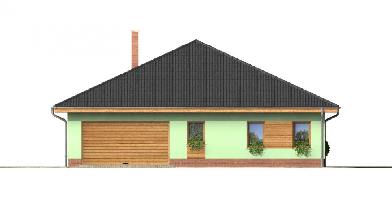 Pohľad 1. - Obľúbený dom s dvojgarážou.